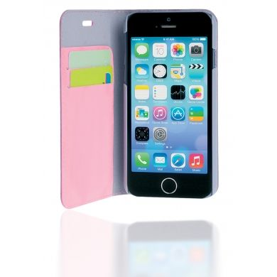 custodia a libro iphone 6 rosa