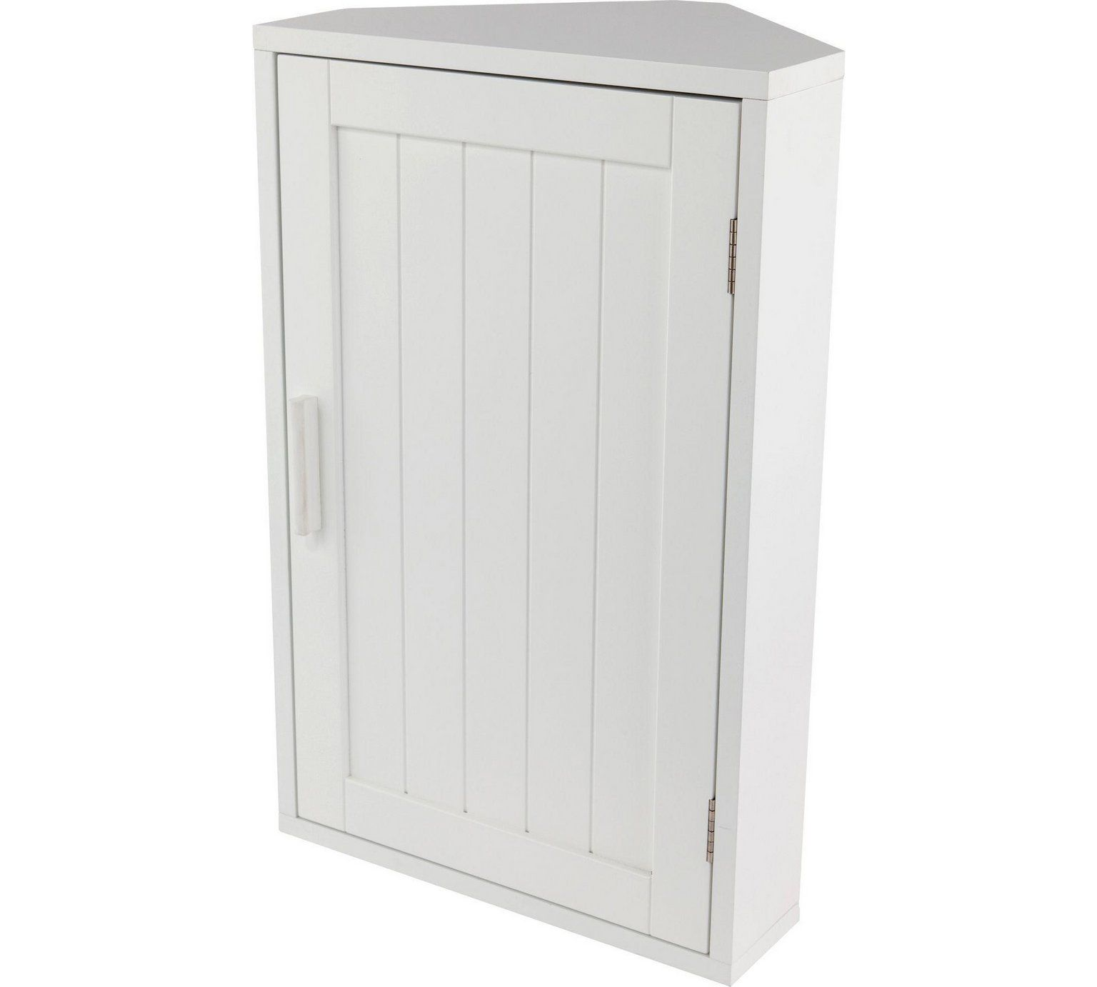 Buy HOME Wooden Corner Bathroom Cabinet - White at Argos.co.uk ...