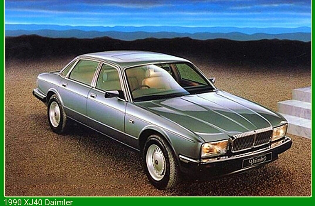 1990 Daimler Xj40 Jaguar Car Jaguar Xj40 Jaguar Daimler