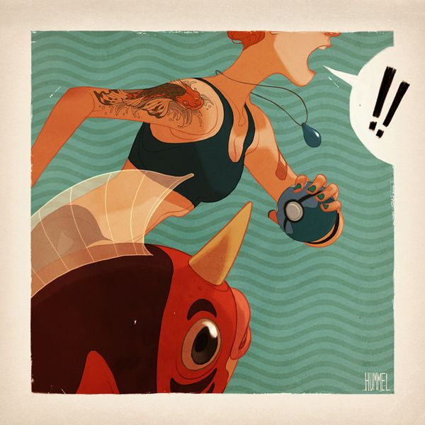 Personal Work by Claire Hummel, via Behance
