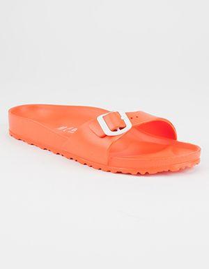 fb69ab7fca1e BIRKENSTOCK Madrid EVA Womens Sandals Orange