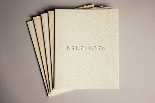 Neuevillen Xix Branded Spaces On Behance Brand Identity