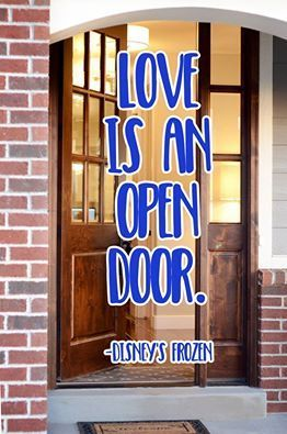 Uberdoors Quote Love Is An Open Door Life Quotes Doors Love Quotes