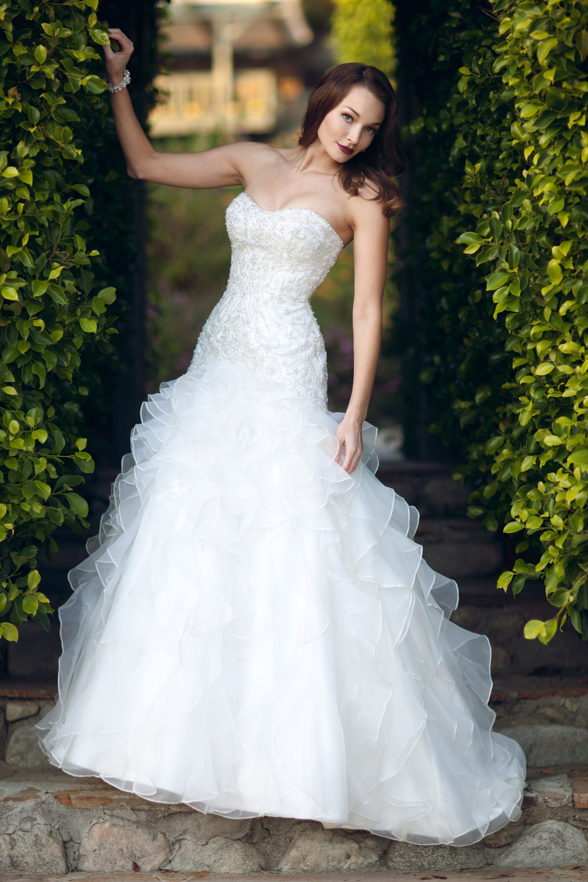 See through corset wedding dresses  Kenneth Winston Style   Ideas for the home  Pinterest  Weddings