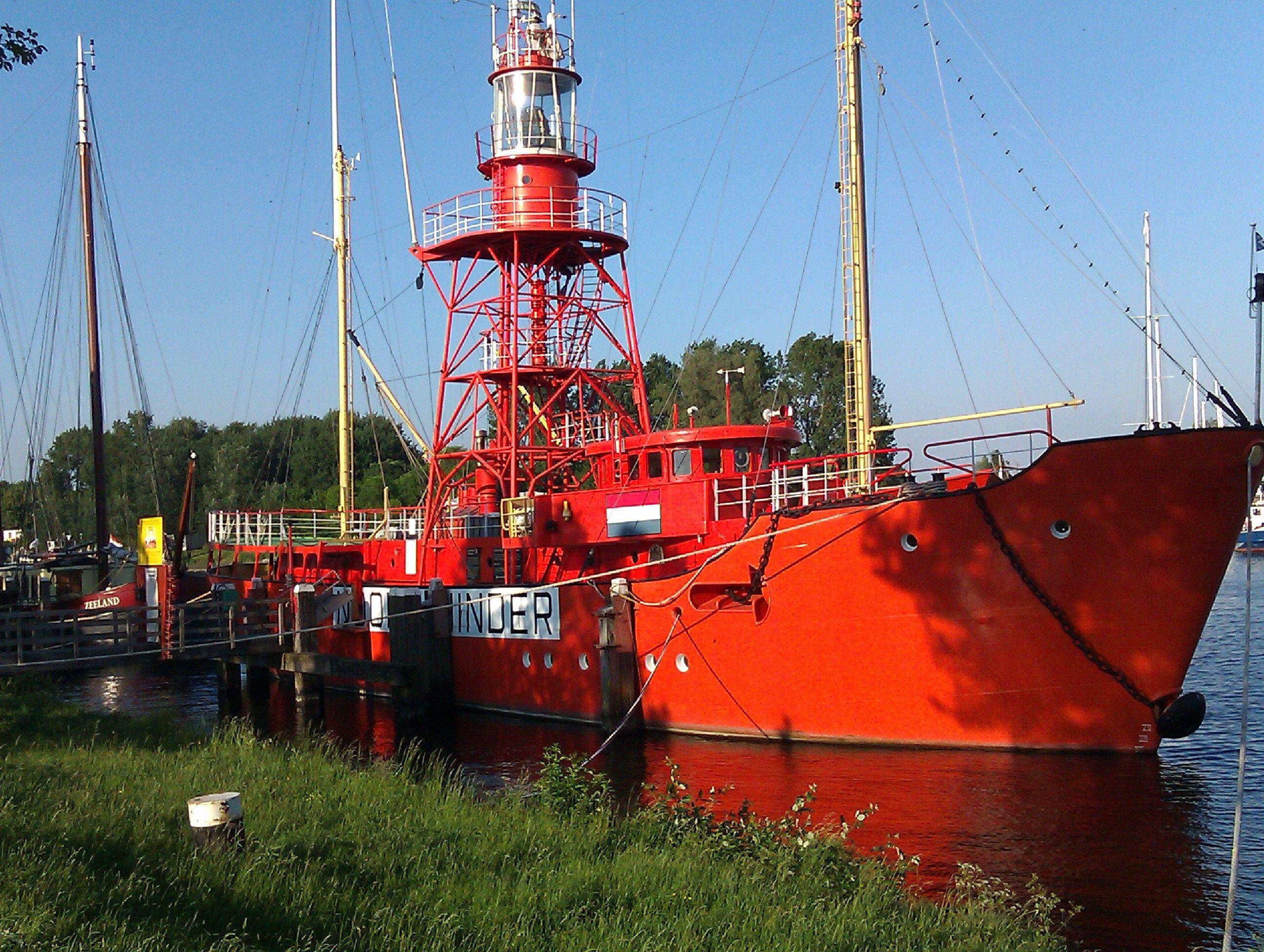 Lichtschip de Noordhinder, binnenkort te bewonderen aan de museumkade.