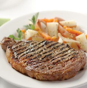grilled chicago style rib eye steaks recipe pinterest rib eye