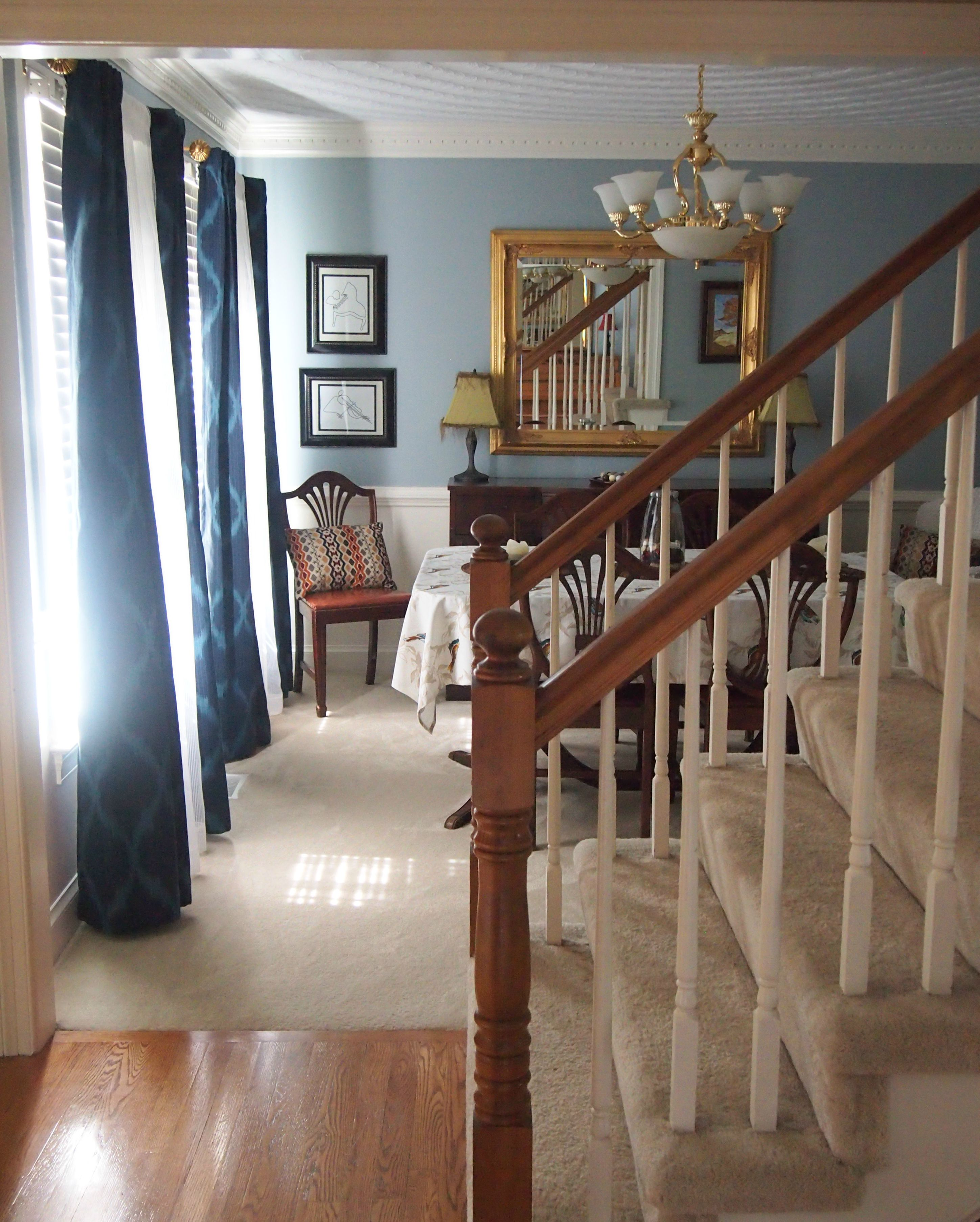 Behr Dining Room Colors: Behr Flint Smoke. Definitely More Blue Than Grey. Blue And