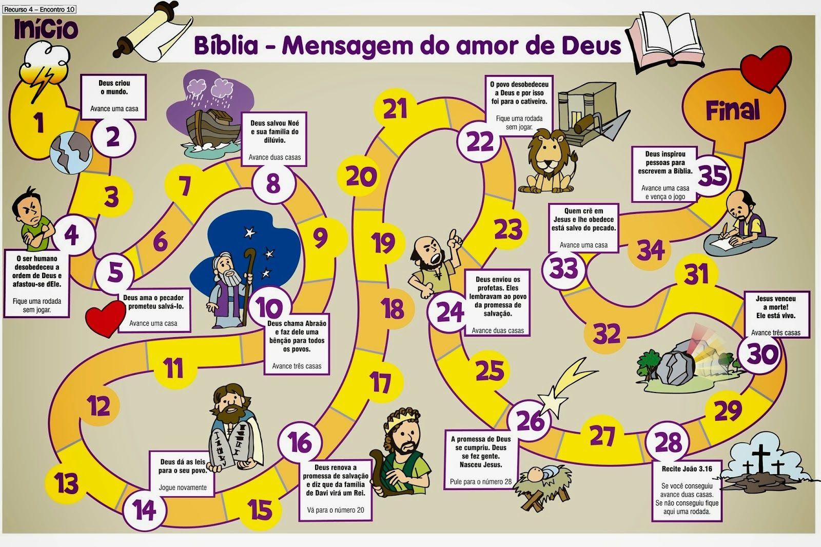 Brincadeiras Biblicas Licoes Biblicas Para Criancas Biblia Infantil