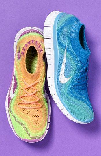 Nike 'Free Flyknit' Running Shoe (Women) | Nordstrom