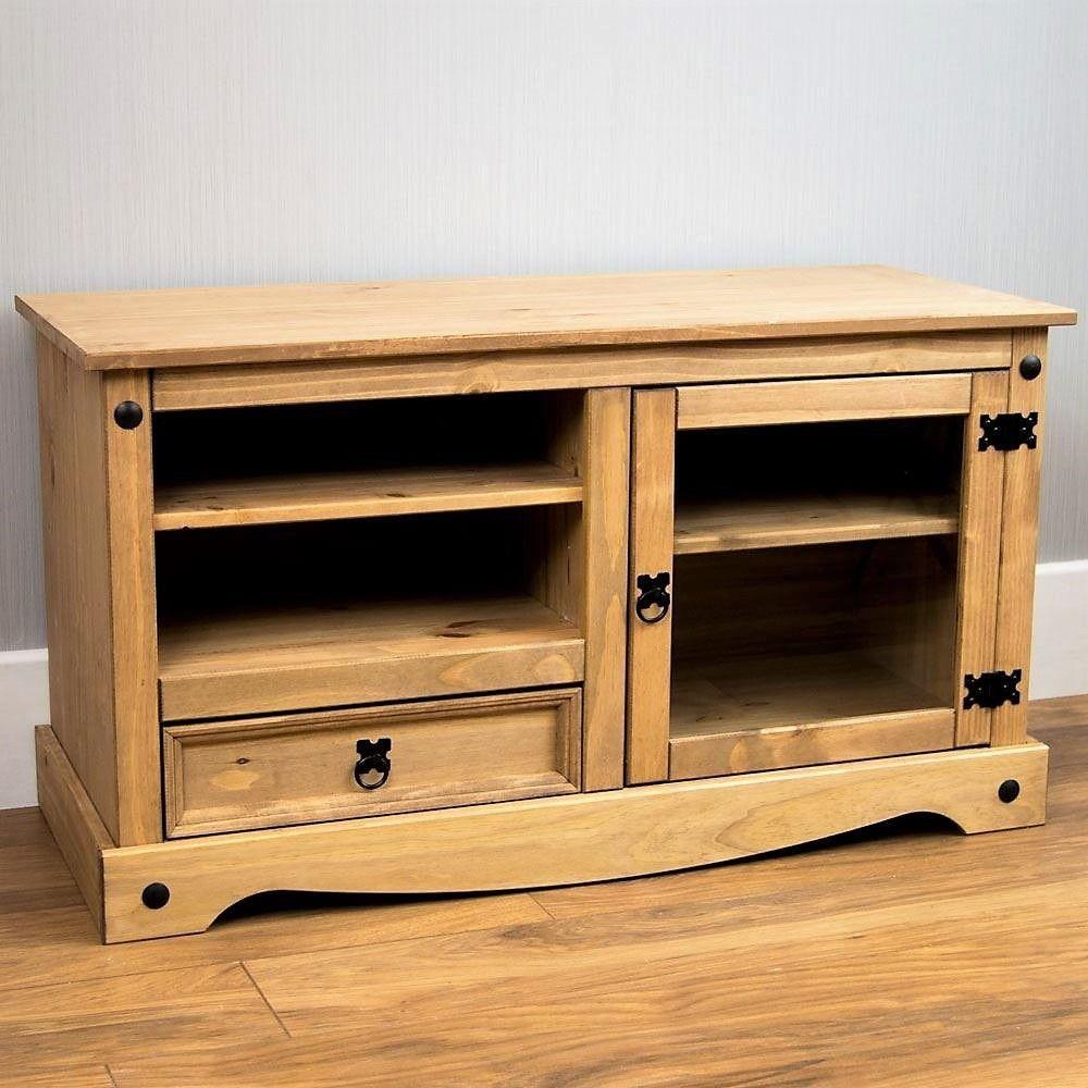 Details Zu Wohnzimmer Holz Fernsehtisch Vintage Tv Tisch Schrank Kabinett  Möbel Schubladen