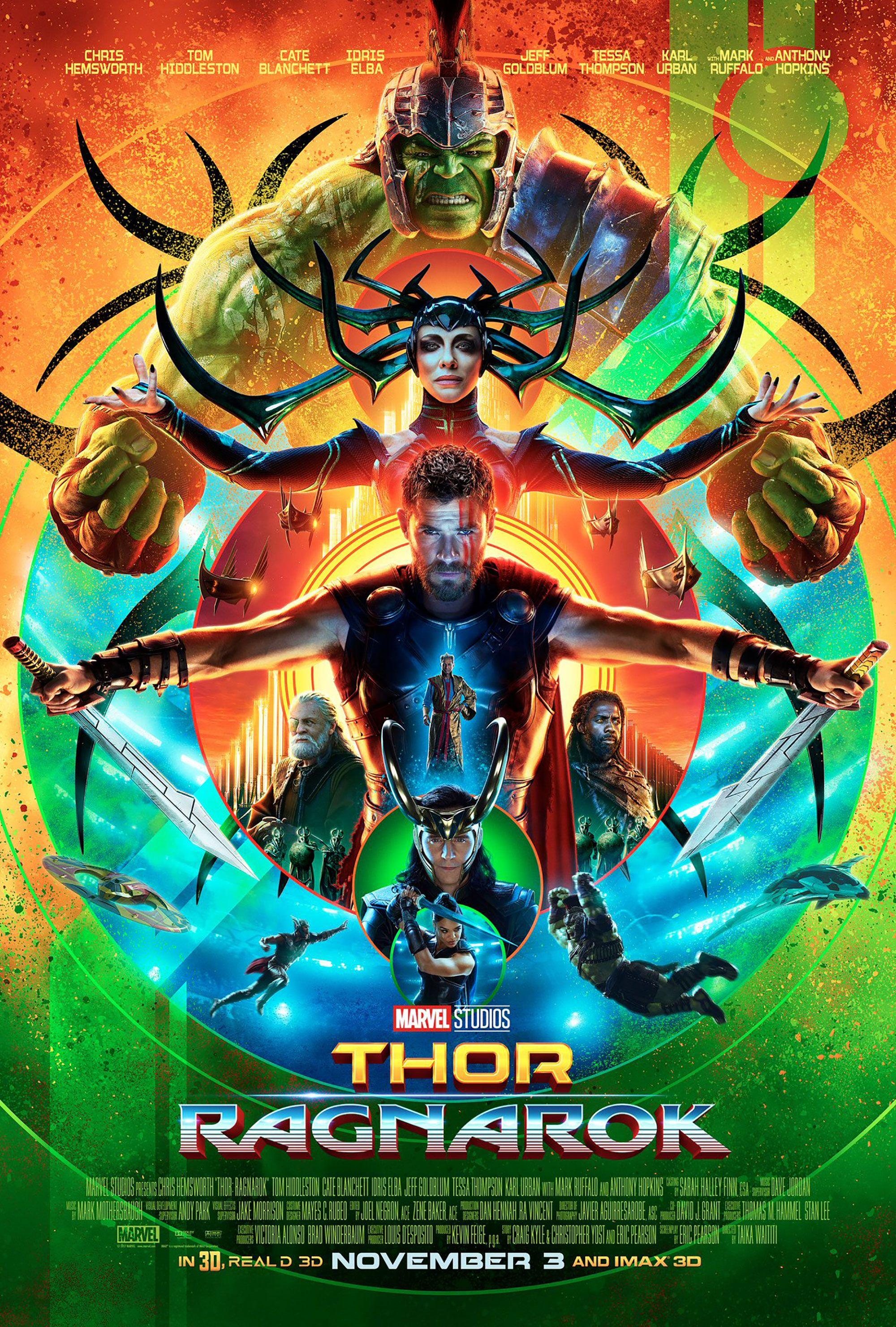 Thor Ragnarok 2017 Movie Posters マーベル映画 マーベル