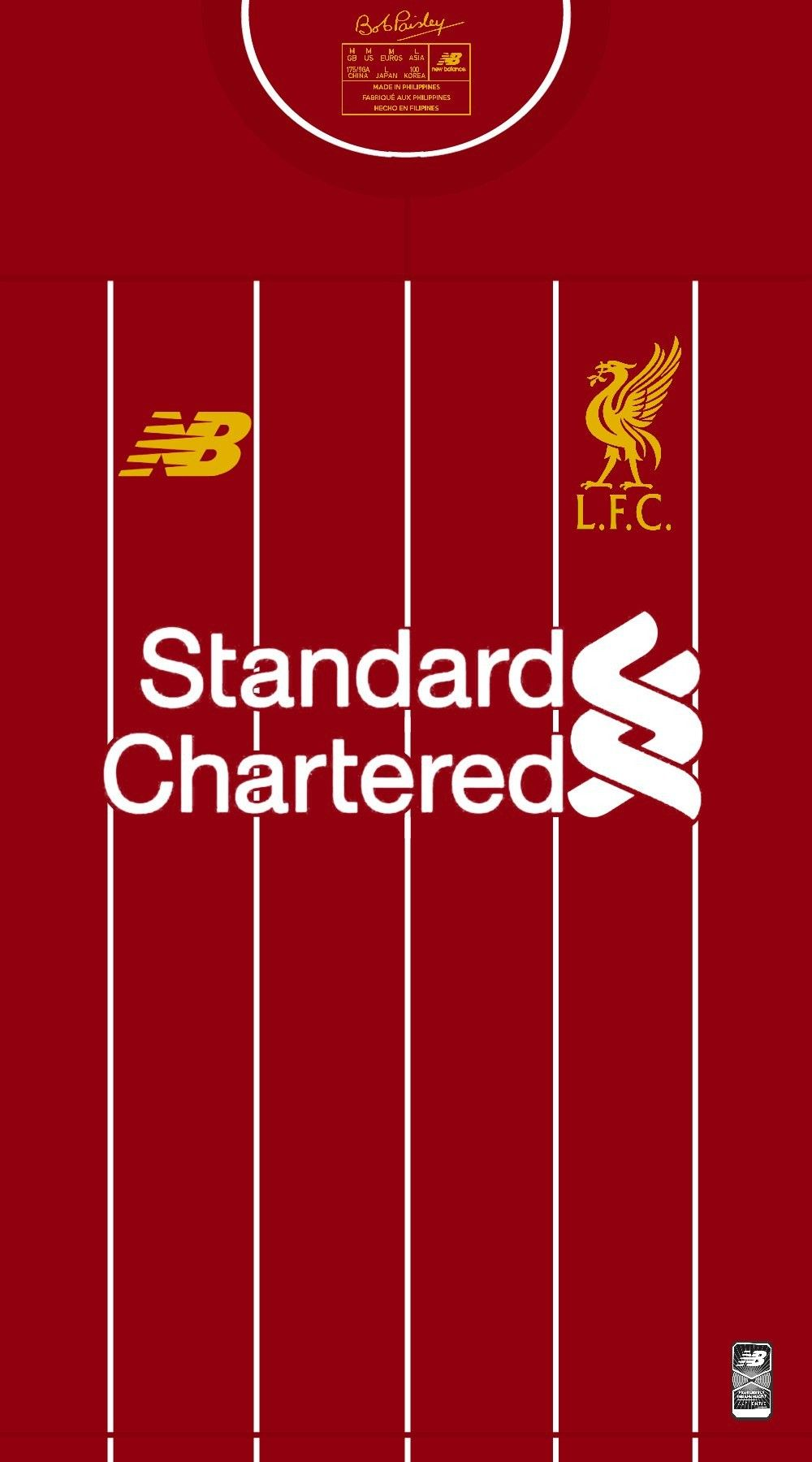 Liverpool Home 2019 2020 Liverpool Anfield Liverpool