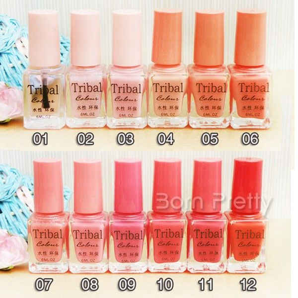 Peach Eco Friendly Water Based Nail Art Polish Remover Needed