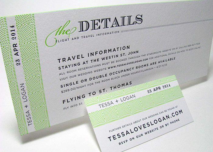 boarding pass wedding invitations 4