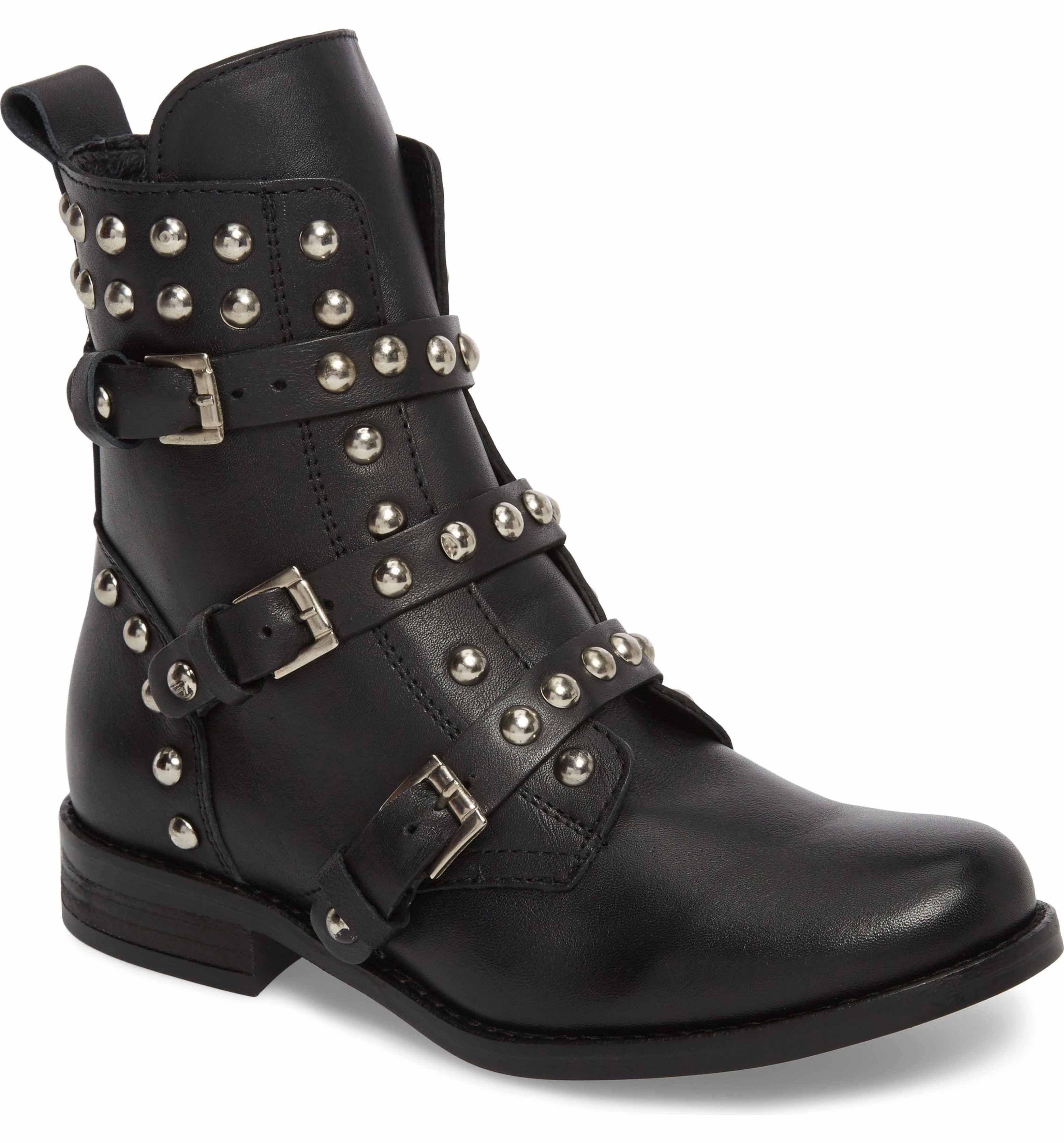 18212874add Steve Madden Studded Spunky Boot (Women)