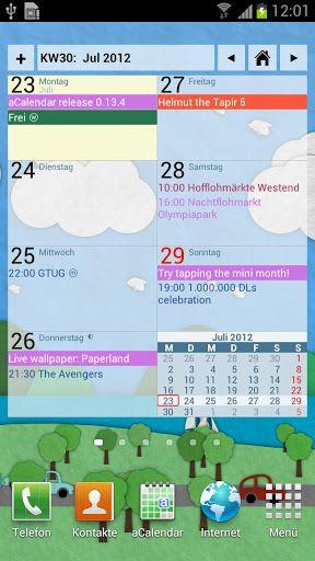 aCalendar+ Calendar & Tasks v1 8 1 FULL APK (UPDATED