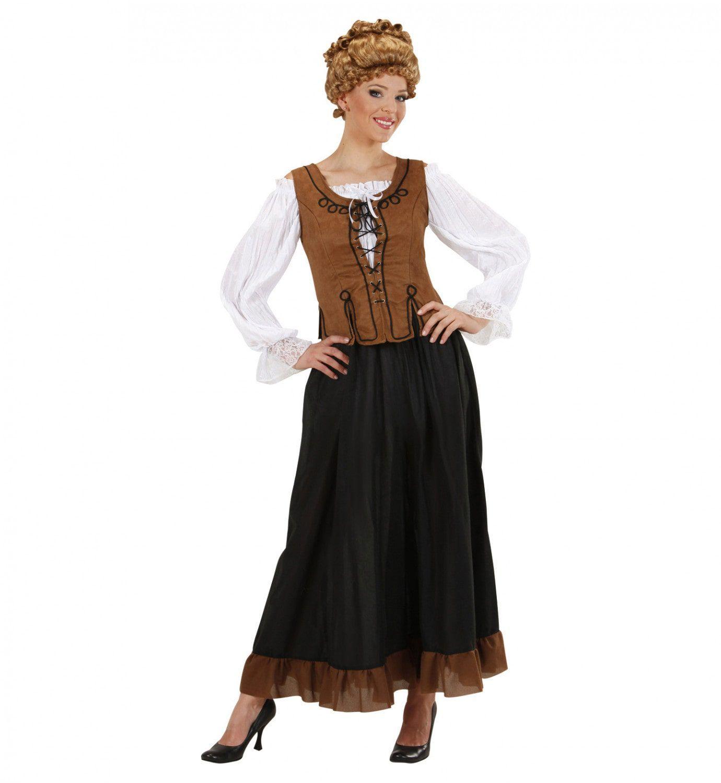 sociaal vrouw kostuum