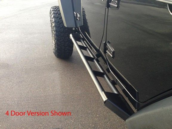 Evo Manufacturing Rocksliders Low Angle Step Rock Sliders Truck Accessories Jeep Wrangler Jk Mods
