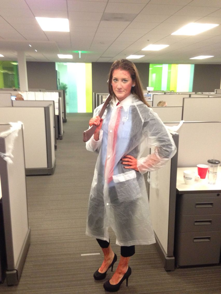 American psycho costume for the office halloween costumes pinterest halloween halloween - The office american version ...