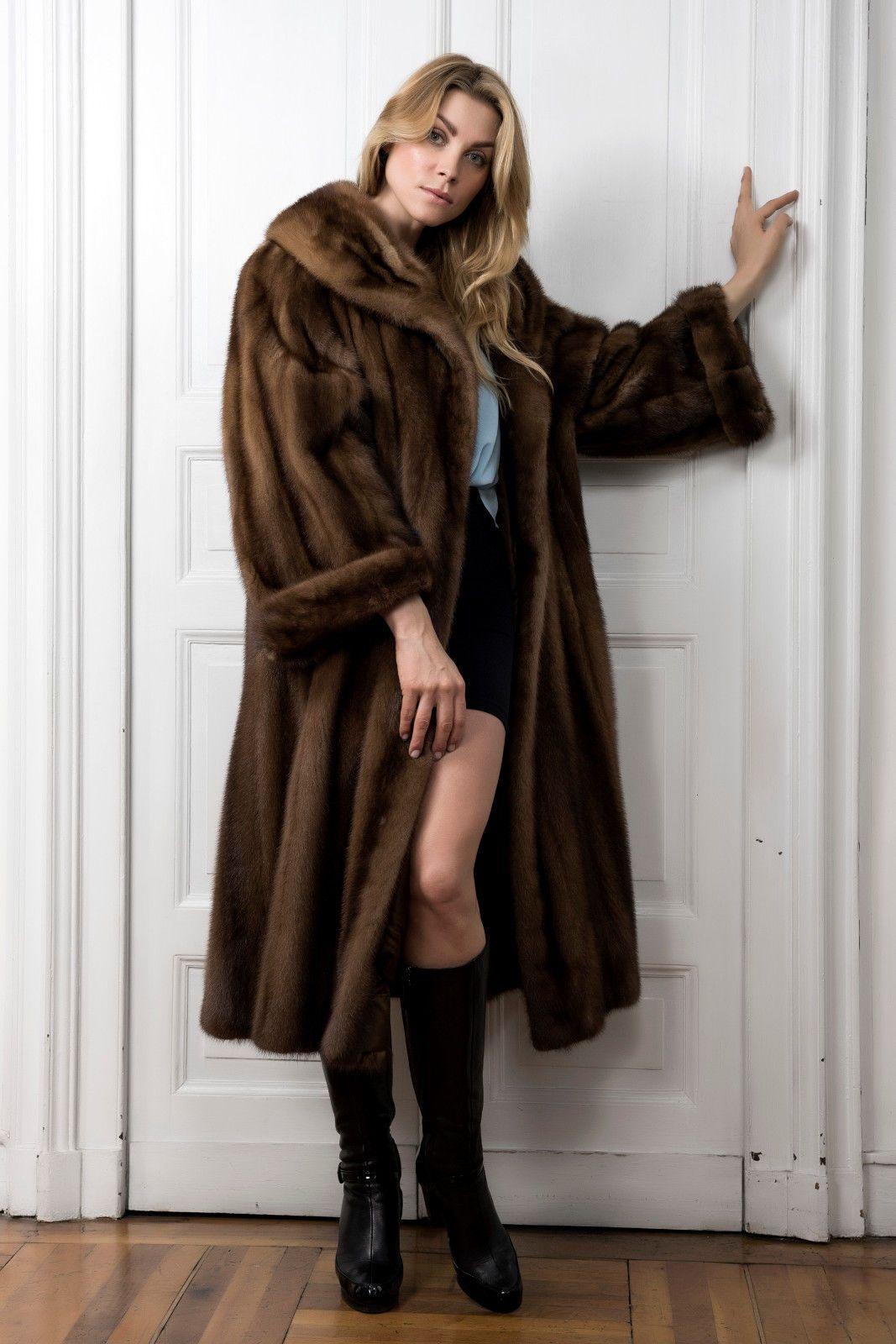 hot sale online 90c7a 1c138 Demi Buff Mink Fur Coat Pelliccia Visone Maschio Pelisse ...