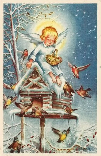 Tolle Weihnachtsbilder.Winter Kindness Lars Carlsson Artwork Of Lars Carlsson