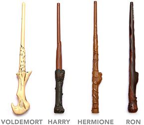Laser Tag Harry Potter wands.... i need to have these.. so much fun will be had