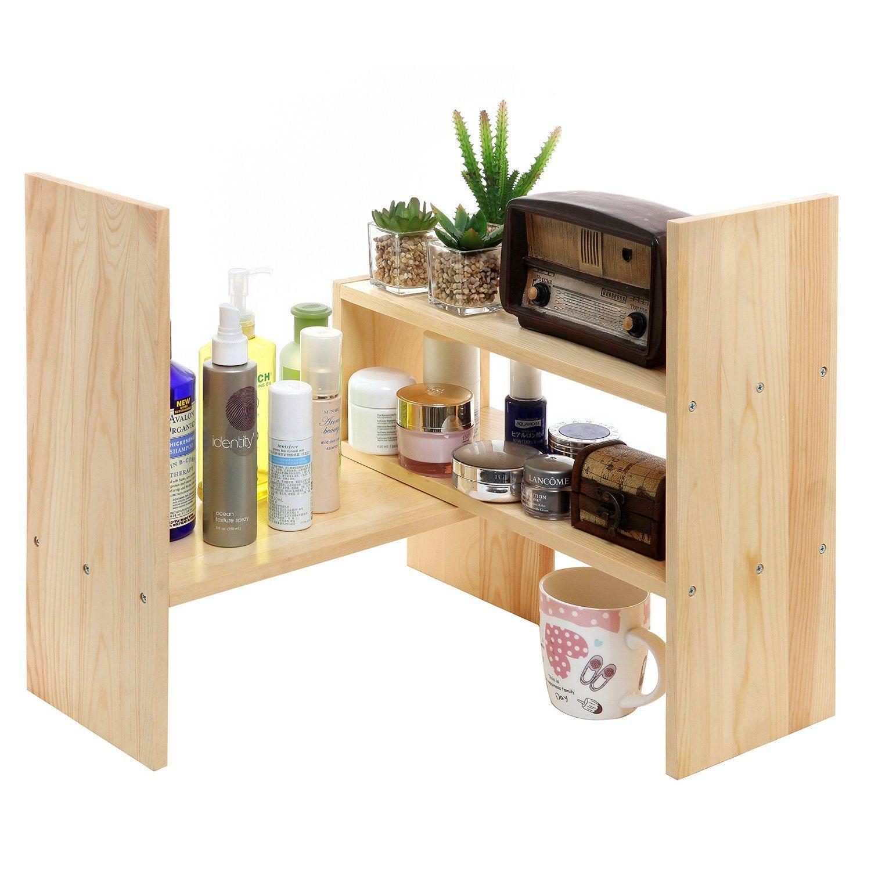 Robot Check Bathroom Organization Diy Shelves Desktop Shelf