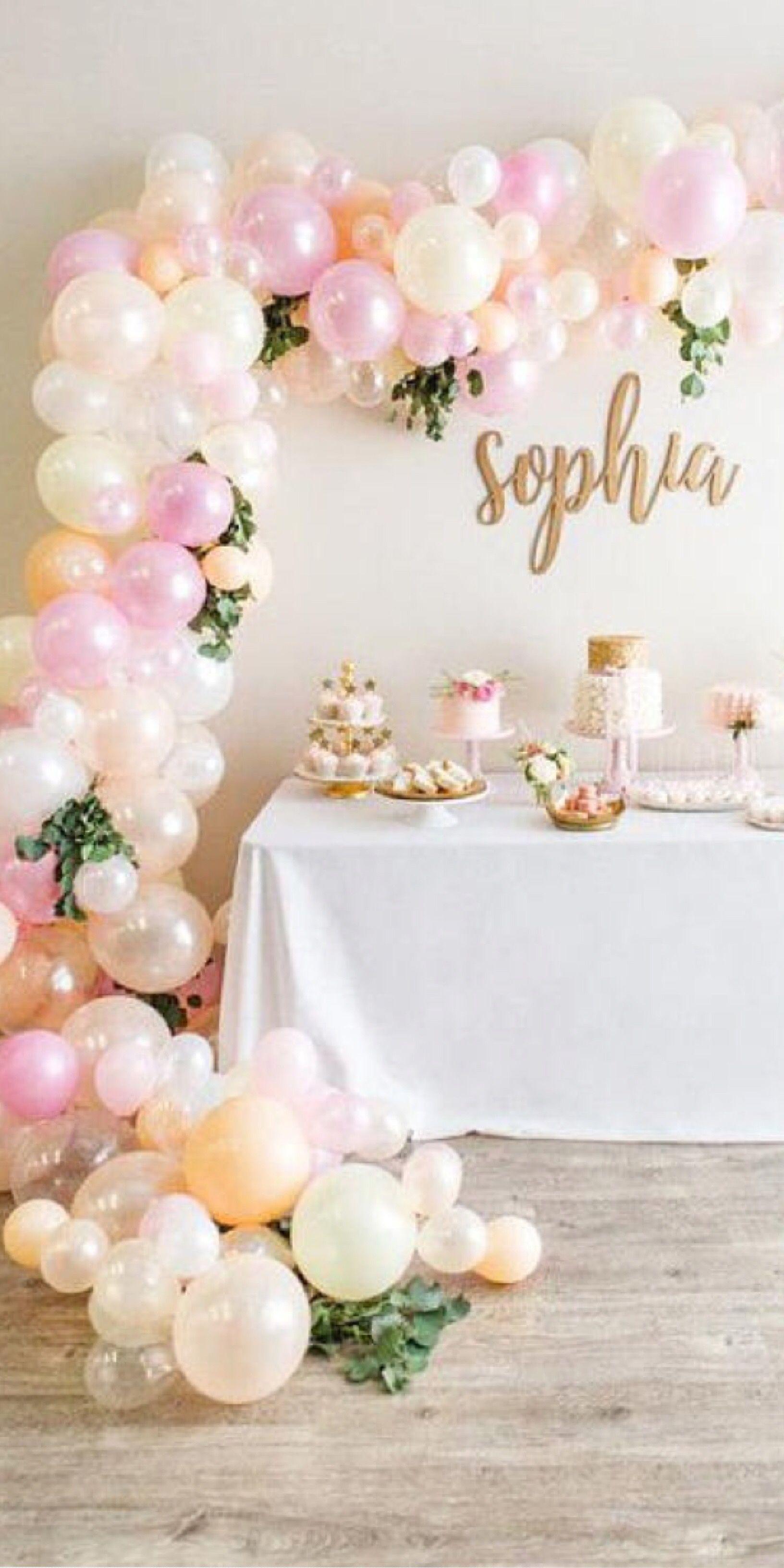 DIY Balloon Arch Kit 14/' Baby Shower Bridal Shower Birthday Party Decoration Balloon Decoration