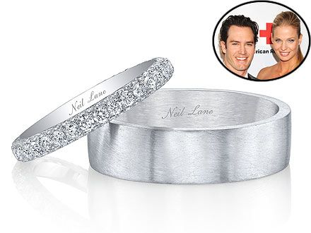 Exclusive All About Mark Paul Gosselaar And Catriona McGinns Wedding Bands