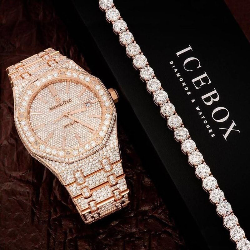 Pin by Icebox Diamonds & Watches on Bracelets in 2019 ...