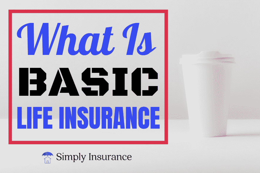 What Is Basic Life Insurance Coverage In 2020 Life Insurance