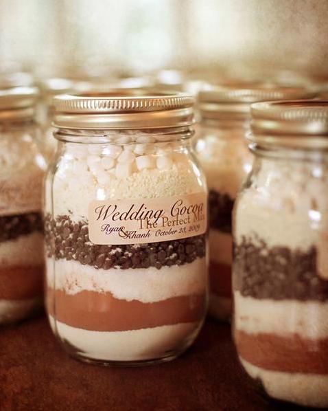 10 Winter Wedding Favor Ideas Rustic Wedding Favors Pinterest