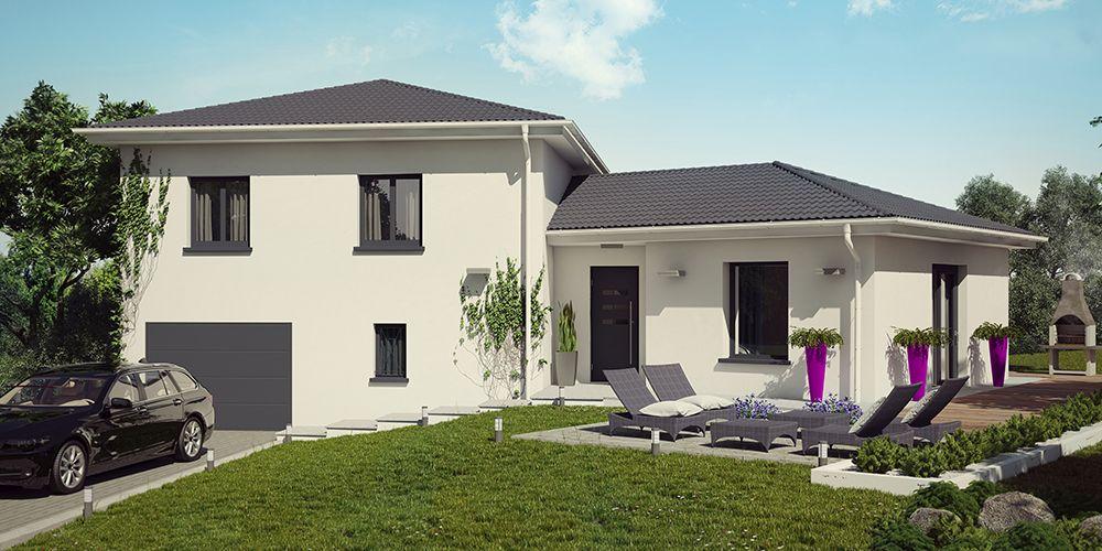 ANTIGUA MODERNE #construction #villa #demeure #etage ...