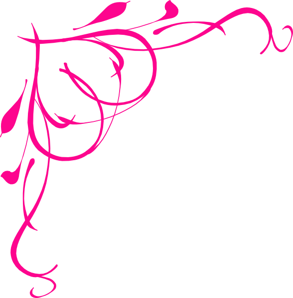 pink scroll frame clip art clipart panda free clipart images rh pinterest co uk clip art swirl borders clip art swirly christmas tree