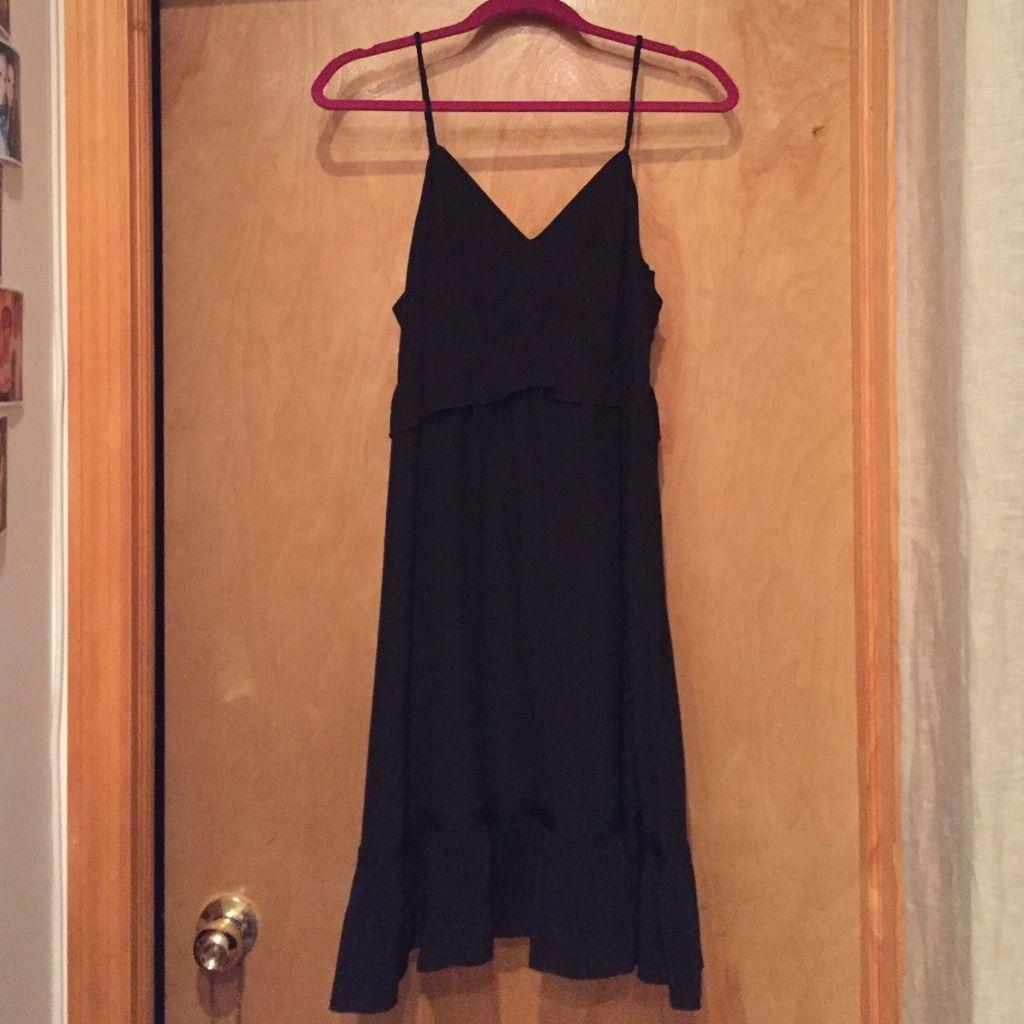Vanessa Bruno Athe Black Mini Dress