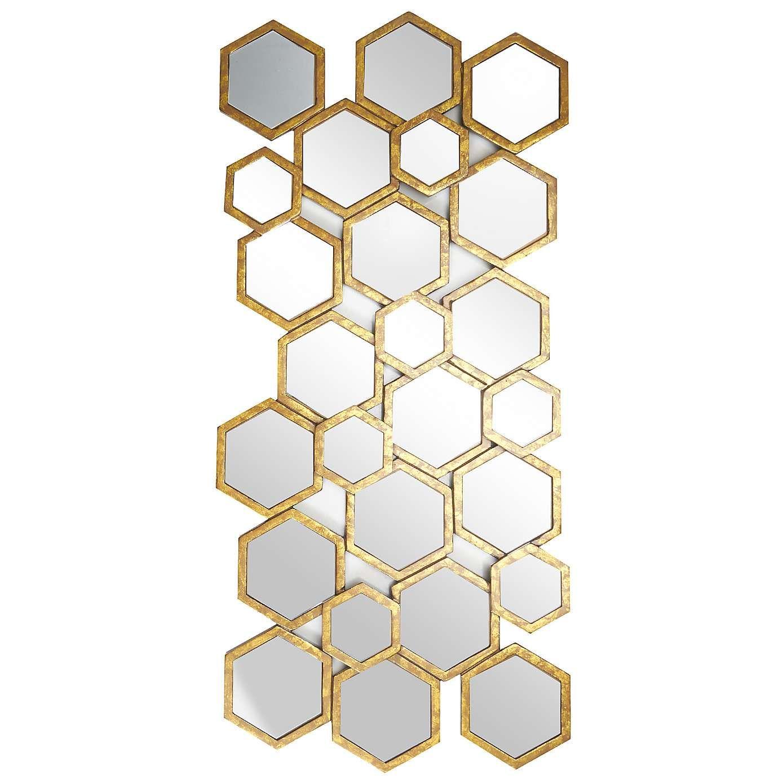 Dunelm Bathroom Mirrors - Hexagon mirror dunelm