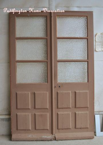 アンティーク扉 店舗 中古 建具 フレンチ ビンテージ フレンチ建具