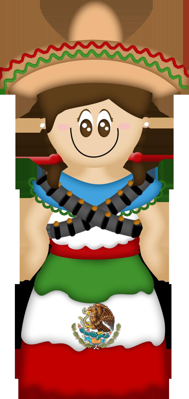 Pessoas Do Mundo E O Mundo Muñecas Paises Viva Mexico Mexican