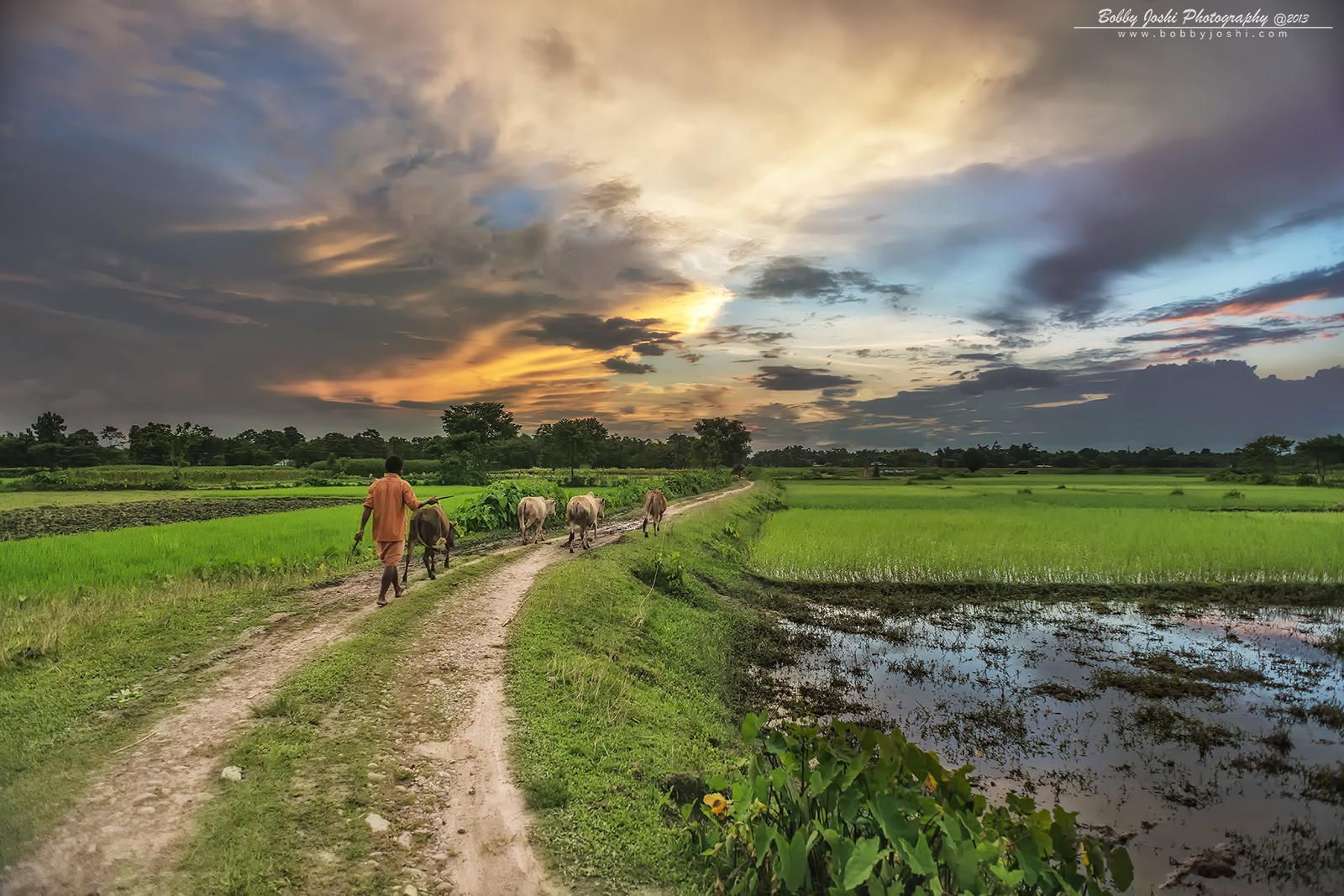 End Of The Day Village Photography Landscape Landscape Photography