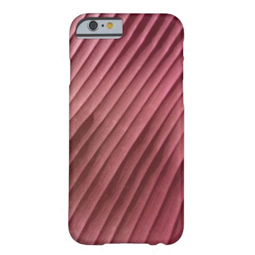 Leaf Red Diagonal, iPhone Cases from ZoeSPEAK