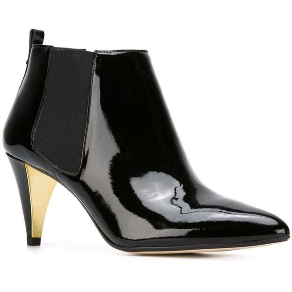 Michael Michael Kors midi ankle boots ($245) ❤ liked on Polyvore