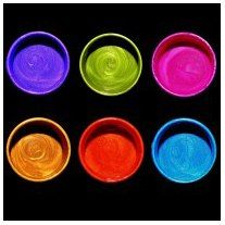Silks Acrylic Glaze -Jewels Of Summer-Pretty Peridot, Snap Dragon, Jasmine, Emperor's Gold, Spiced Pumpkin and Sky Blue, Six pc 10 ml set