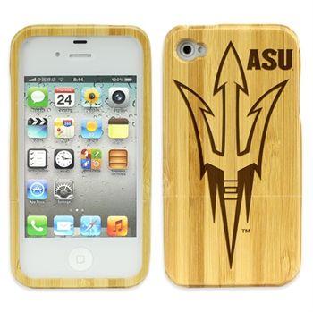 ASU Sun Devils Eco Bamboo Case for iPhone® 4/4s