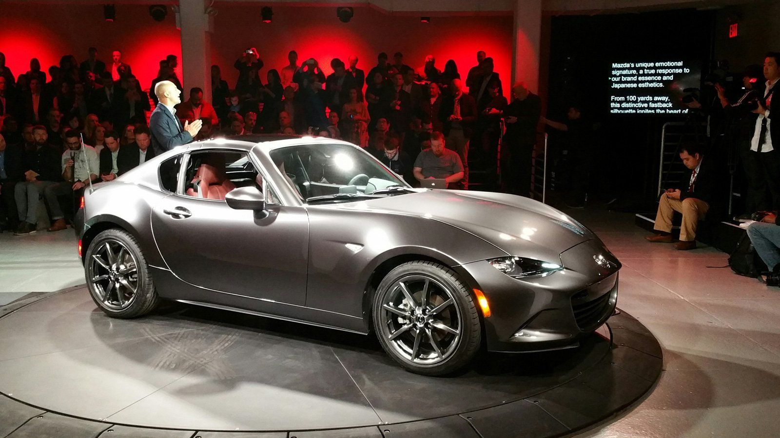 Mazda mx 5 miata rf hardtop revealed looking damn sexy
