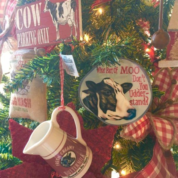 The Christmas Shoppe Of Boerne Tx Proudly Presents Its New 2017 Themed Trees Check Out Our Country Kitchen Tre Christmas Farm Christmas Tree Themes Christmas