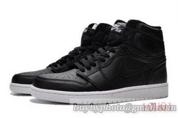 e4420f30e7c6d0 Authentic Air Jordan 1 OG Cyber Monday Oreo Black White-026 ...