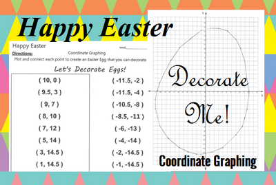 An Easter coordinate graphing activity
