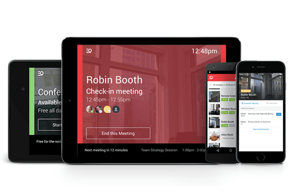 Conference Room schedule display app on Android or iOS