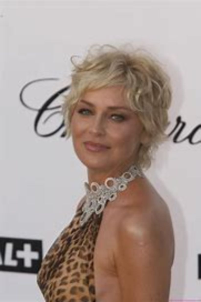 Sexy short hair for women over 50