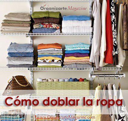 La ropa es algo que genera desorden en nuestro hogar en diferentes ámbitos. Ya hemos compartido contigo algunas interesantes ideas para organizar la ropa sucia pero, ¿qué pasa una vez que está limp…